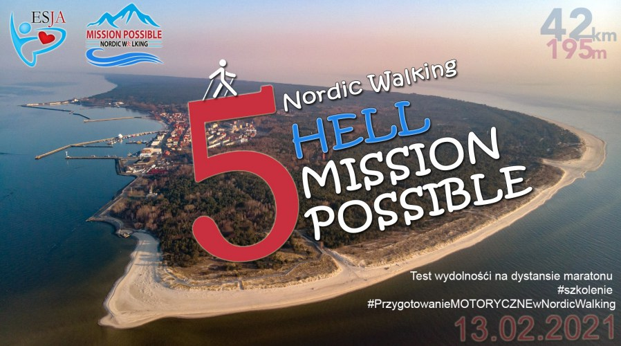 NORDIC WALKING HELL MISSION POSSIBLE 2021